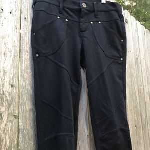 Free People Black Jeggings